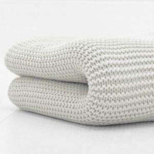 Cuddles Cellular Cotbed Blanket Grey