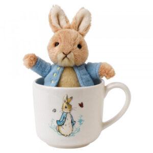 Beatrix Potter Peter Rabbit Mug & Soft Toy Gift Set