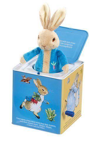 Rainbow Design Peter Rabbit Jack in the Box