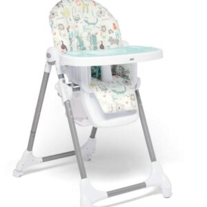Mamas & Papas Snax Adjustable Highchair with Removable Tray Insert - Safari