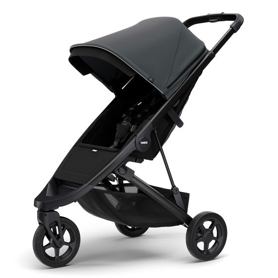 Thule Spring Stroller with Black Chassis Shadow Grey