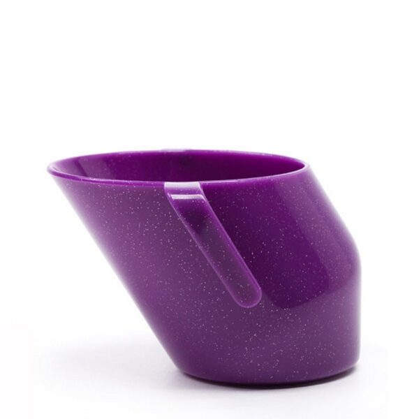 Bickiepegs Doidy Cup - Unique Training Cup Sparkle Purple