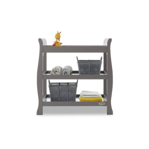 Obaby Stamford Open Changing Unit - Taupe Grey