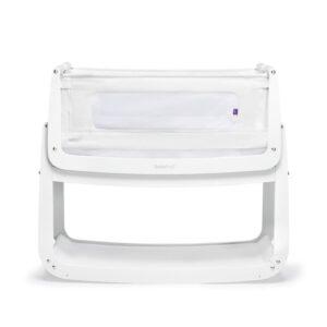 SnuzPod 4 Bedside Crib White